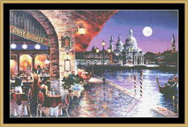 Cafe Barocco - Cross Stitch Pattern | Crafting | Cross-Stitch | Other