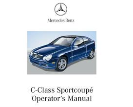 2002 MERCEDES BENZ C230 Kompressor OWNERS MANUAL | eBooks | Automotive
