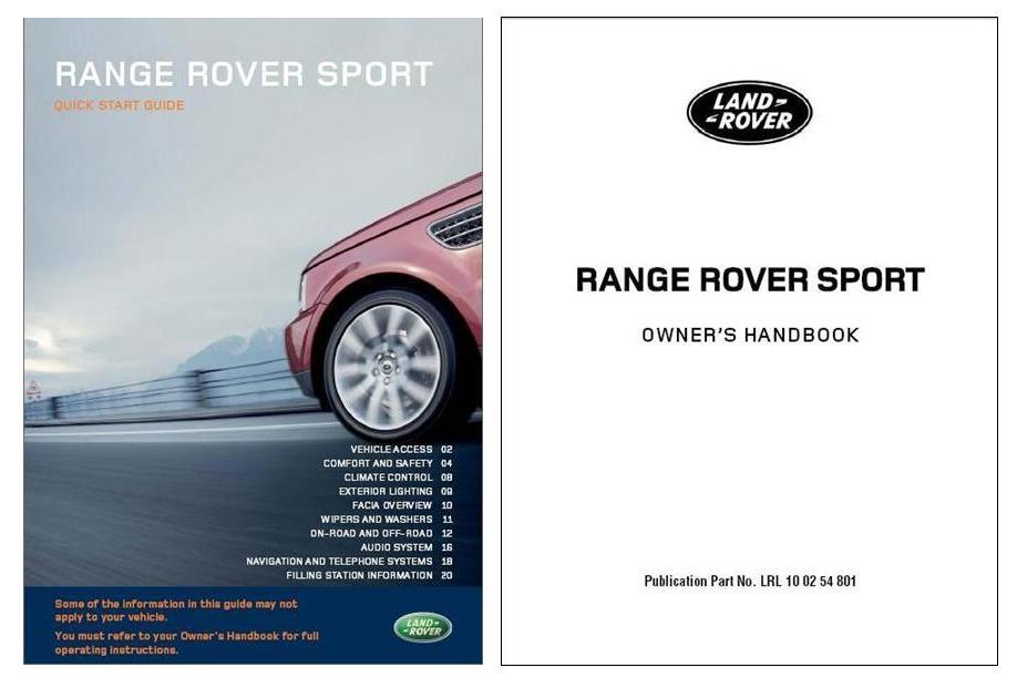 Range Rover Sport Workshop Manual - thehorde