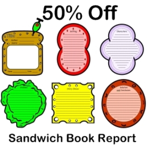 Sandwich Book Report 50 Off Documents And Forms Other