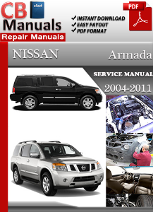 nissan armada 2004 2011 service manual download online. Black Bedroom Furniture Sets. Home Design Ideas