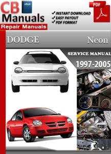 2005 Dodge Neon Repair Manuals torent sslloadd #2: detail