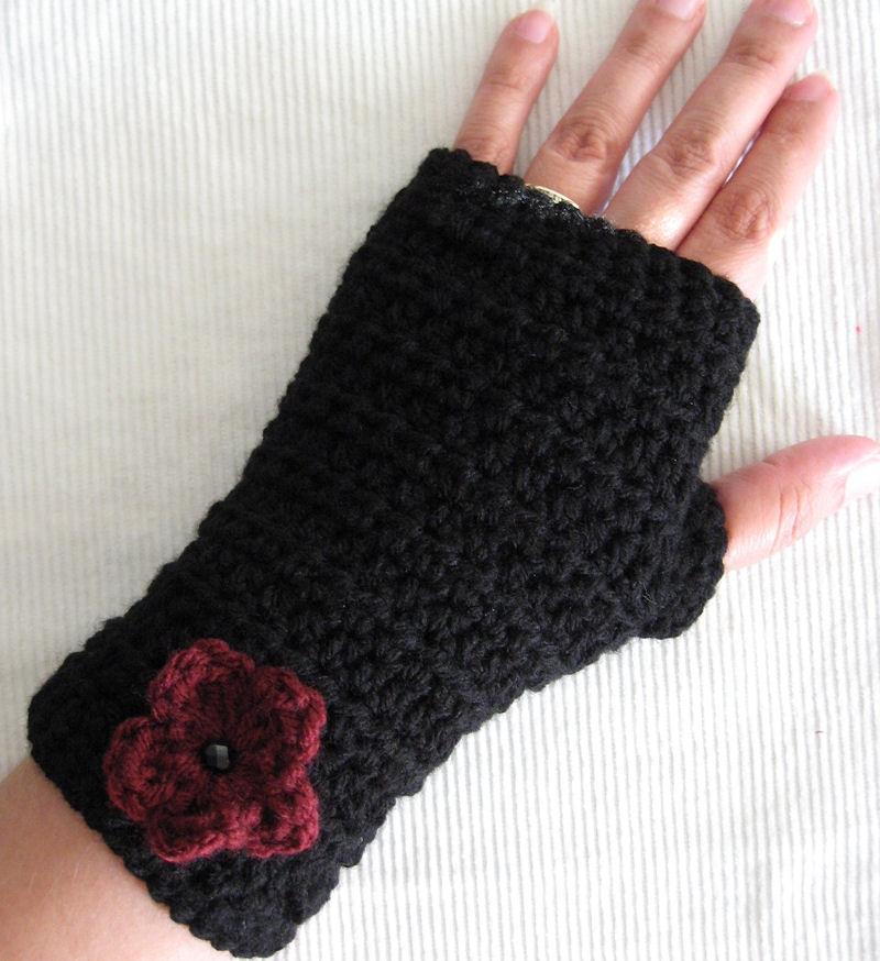 Crochet patterns for gloves pakbit for fingerless gloves crochet pattern ebooks arts and crafts dt1010fo