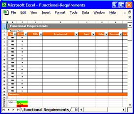 non functional requirements template - functional requirements template software software