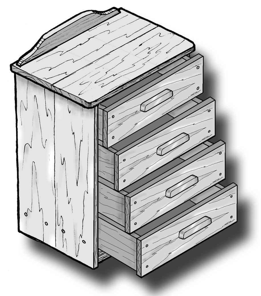 Woodwork plans bedside cabinet model 5 ebooks home for Bedside cabinet plans