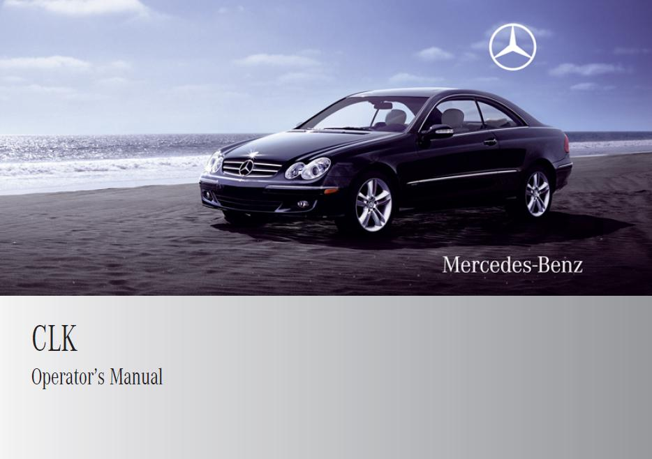 2009 mercedes benz clk 350 owners manual pdf mitingj for 2011 mercedes benz ml350 owners manual