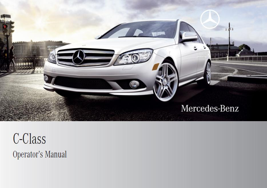 2009 mercedes benz c300 owners manual pdf 2018 2019 for Mercedes benz c300 manual