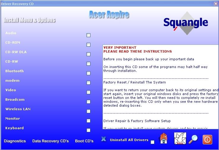 Windows для драйвера ноутбука acer xp 5560g