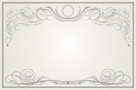 ... Illustrator EPS File Invitation Card Template Postcard Wedding Letter