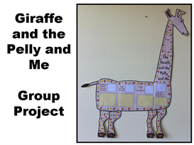 The Giraffe and the Pelly and Me Group Project | Documents and Forms ...