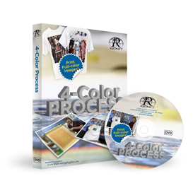 Screen Printing Four Color Process DVD | Movies and Videos | Educational