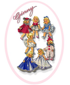 Ginny CLOWN vintage pattern 2150 | Crafting | Sewing | Other