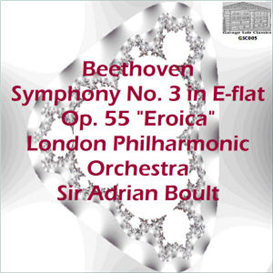 """beethoven: symphony no. 3 in e-flat, op. 55 """"eroica"""" - london philharmonic orchestra/sir adrian boult -"""