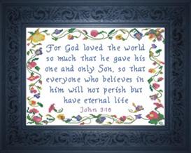 everyone who believes - john 3:16