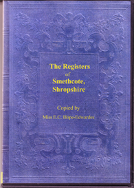 the parish registers of smethcote, shropshire