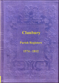 the parish registers of clunbury, shropshire.