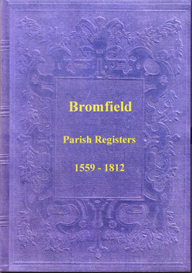 the parish registers of bromfield, shropshire.