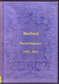the parish registers of burford in shropshire.