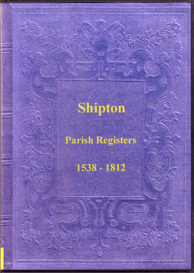 the parish registers of shipton in shropshire.