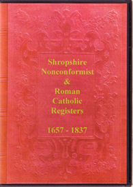 shropshire nonconformist and roman catholic registers.