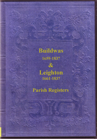 the parish registers of buildwas & leighton in shropshire.