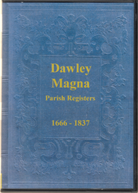 parish registers of dawley magna, shropshire.