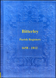 the parish registers of bitterley in shropshire