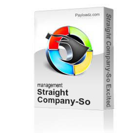 straight company-so excited
