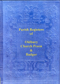Registers of Oldbury, Church Preen and Badger | eBooks | Reference
