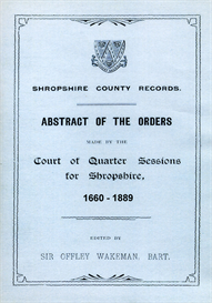 Shropshire County Records. | eBooks | Reference