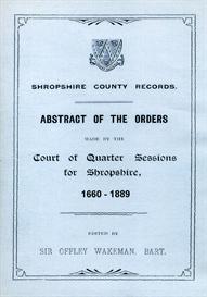 shropshire county records.