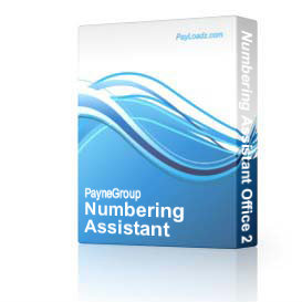 numberingassistantoffice2010