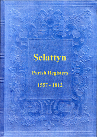 the parish registers of selattyn in shropshire.