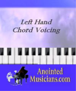 left hand chord voicing