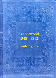 The Parish Registers of Leebotwood in Shropshire. | eBooks | Reference