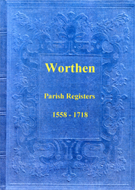 the parish registers of worthen in shropshire.