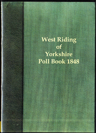 west riding election 1848 the poll for the west riding of yorkshire.