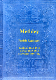 the parish registers of methley, in the west riding of yorkshire.