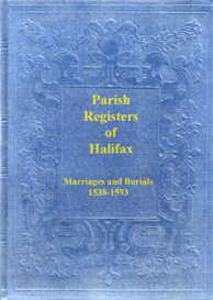 parish registers of halifax