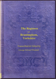 the parish registers of brantingham, yorkshire.