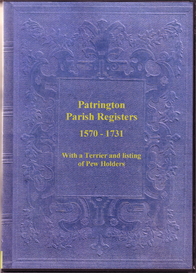 the parish registers of patrington, in the east riding of yorkshire. 1570-1731.