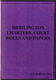 Bridlington Charters, Court Rolls and Papers.   eBooks   Reference