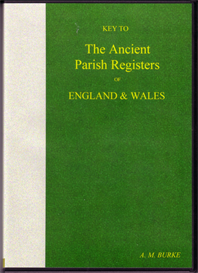key to the ancient parish registers of england & wales
