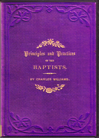 principles and practices of the baptists.