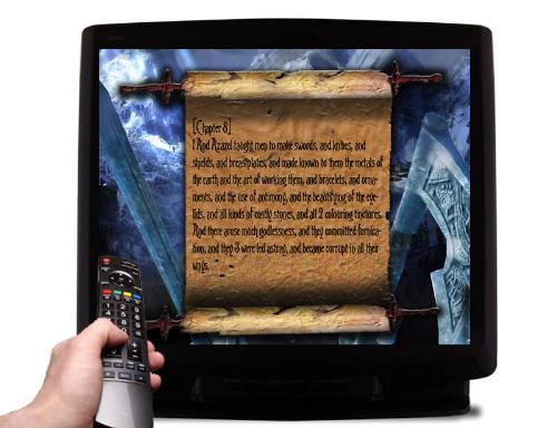 Third Additional product image for - The Virtual Book of Enoch DVD Narration