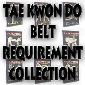 taekwondo belt requirement collection (8 video titles) -download version