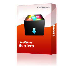borders & frames clip art package