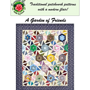 a garden of friends patchwork digital pattern