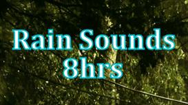8hrs of rain sounds