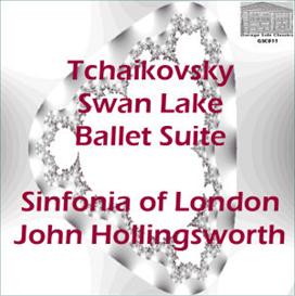 tchaikovsky: swan lake - ballet suite - sinfonia of london/john hollingsworth